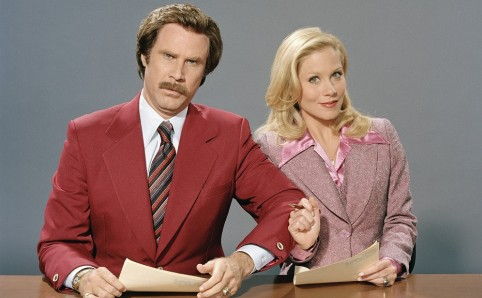 Anchorman: The Legend of Ron Burgundy (2004) ****